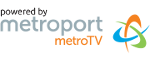 Powered by Metroport Metro TV